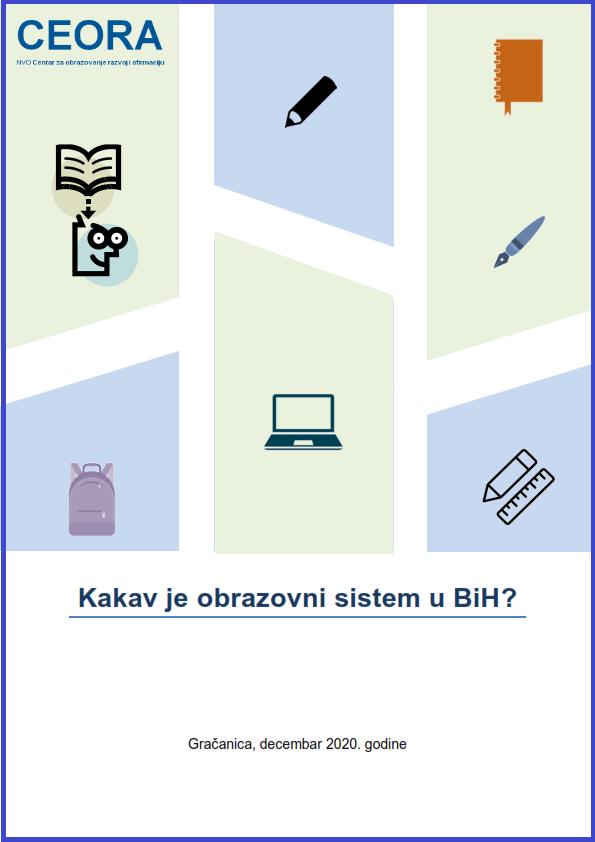 NVO CEORA publikacija 1objavljene Kakav je obrazovni sistem u BiH