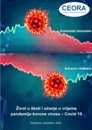 NVO CEORA publikacija 2 objavljene Život u školi i učenje u vrijeme pandemije korona virusa Covid-19